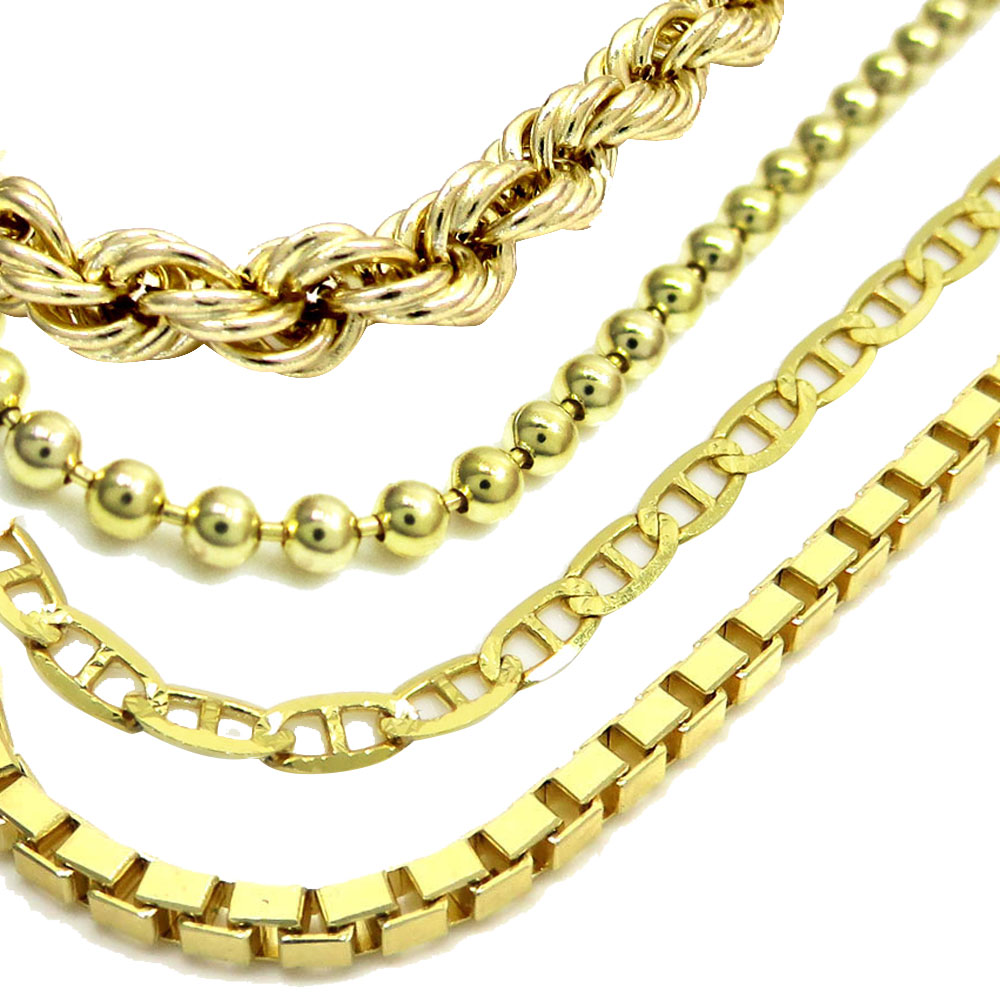 Different Types Of 10k Gold Necklace Chains All You Need To Know So Icy Jewelery Blog