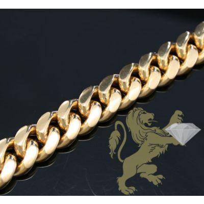 Mens 14K Gold Bracelets