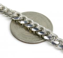 925 sterling silver miami link chain 18-30 inches 6.40mm