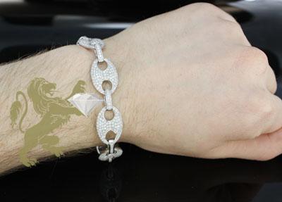 8.30ct 14k white gold diamond