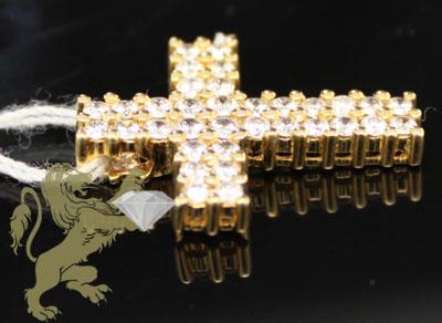 0.75ct 18k yellow gold diamond