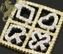 0.80ct 14k solid yellow gold diamond