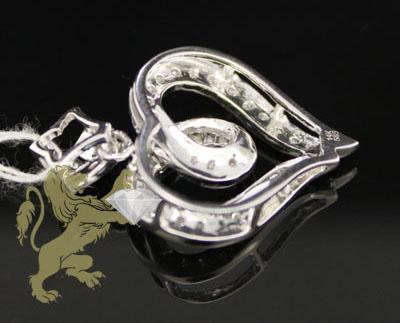 0.75ct 14k white gold diamond