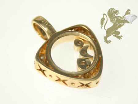 0.25ct ladies 14k solid yellow gold