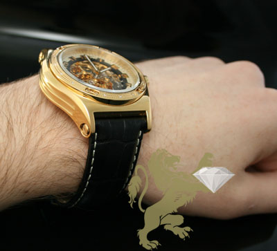 0.20ct mens techno com by kc genuine diamond watch