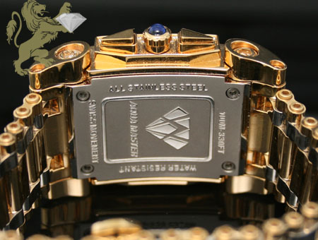 4.00ct mens aqua master genuine diamond
