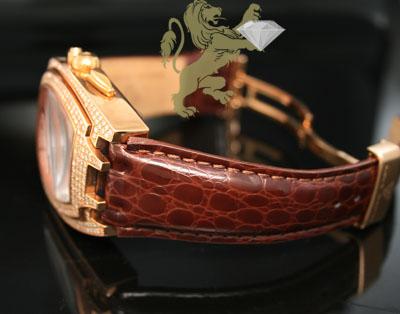 3.50ct aqua master genuine diamond watch