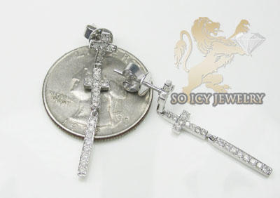 0.50ct 14k white gold round diamond