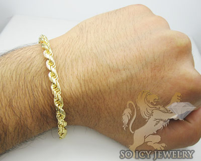 link diamond rope bracelet mens jewelry chain product cut hollow watches yellow gold twisted womens
