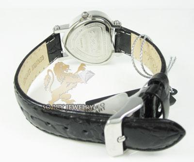 Ladies joe rodeo diamond watch white mini heart 0.27ct