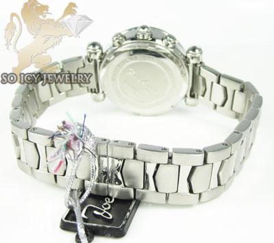 Ladies joe rodeo diamond watch white valerie 1.10ct