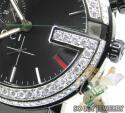 DIAMOND GUCCI G WATCH BLACK STAINLESS STEEL 3.75 CT