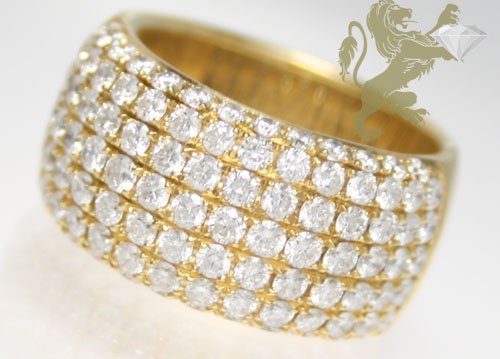 2.40ct unisex 18k solid yellow gold