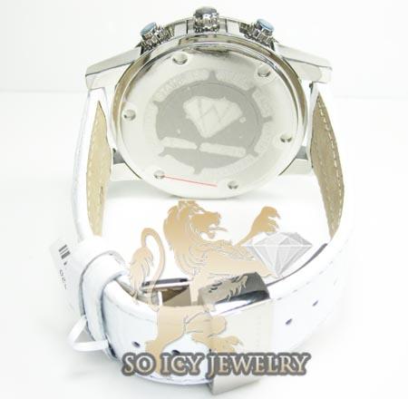 Mens aqua master genuine diamond 50mm watch 0.20ct