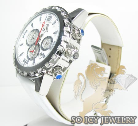 Ladies aqua master genuine diamond 35mm watch 0.20ct