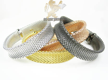Ladies .925 silver snake bangle bracelet