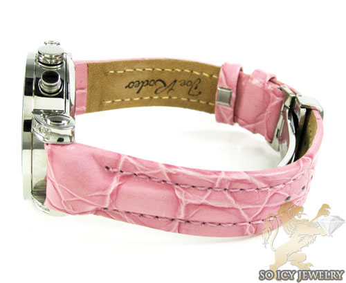 Ladies passion pink joe rodeo diamond watch 0.60ct