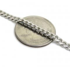 925 sterling silver miami link chain 30 inches 4mm