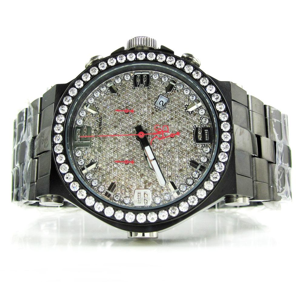 Joe rodeo phantom iced out diamond watch jjm67 8.75ct
