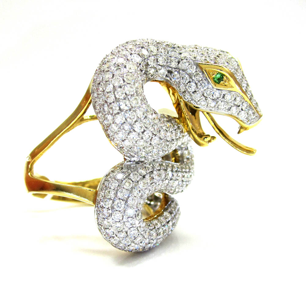 products a mlk bijoux jewels lady s snake ring diamond