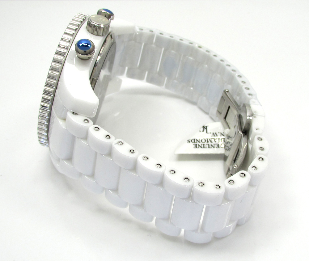 2.00ct mens techno com by kc diamond watch
