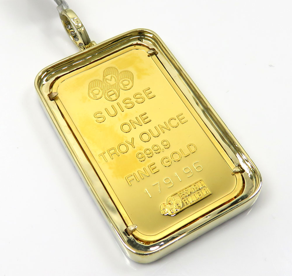 24k gold large lady fortuna diamond pendant 359ct aloadofball Choice Image
