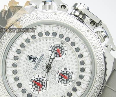 0.25ct Richard & Co Diamond 'black Cz Dial' Watch