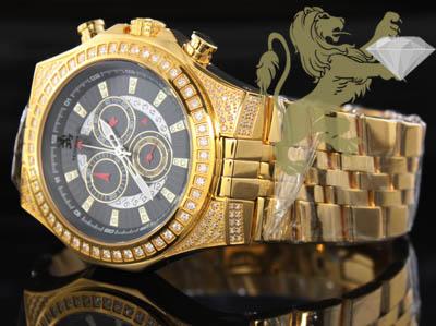 1.50ct Mens Richard & Co Genuine Diamond 'yellow Multi-link