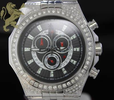 1.50ct Mens Richard & Co Genuine Diamond 'multi-link Ice' Watch