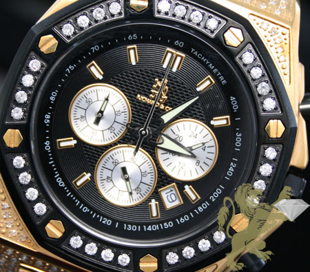 1.75ct Mens Richard & Co Genuine Diamond 'magnum' Watch