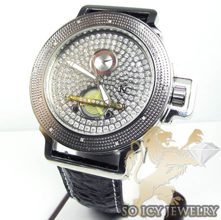 Techno Com Kc Diamond Tourbillon Watch 0.15ct