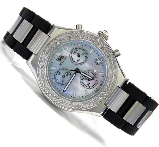 Diamond Icelink Parisien Mens Watch 1.25ct