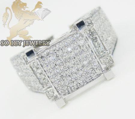 Ladies 14k White Gold Diamond Engagement Ring 1.00ct