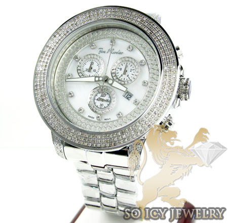 mens diamond watches joe rodeo best watchess 2017 mens joe rodeo white stainless steel pilot diamond watch 3 15ct jrpl1