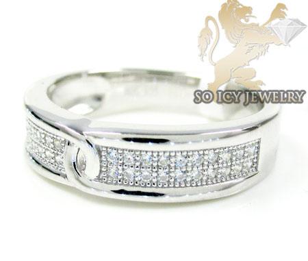 Sterling White Cz Fashion Ring 0.75ct