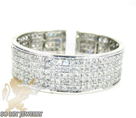 14k White Gold White Diamond Fashion Ring 1.40ct