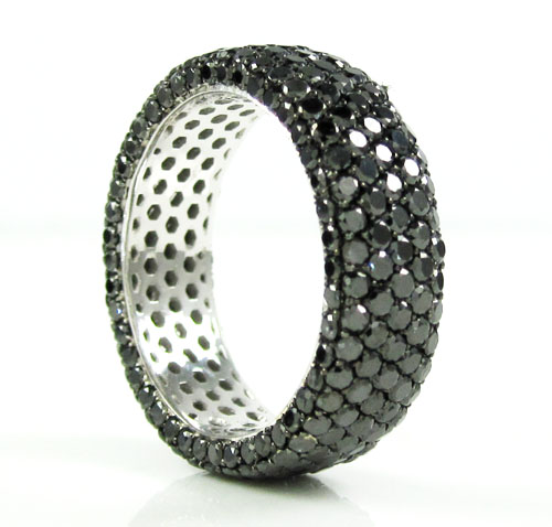 products half paria bands black pave diamond egan thin band corey eternity pav wedding