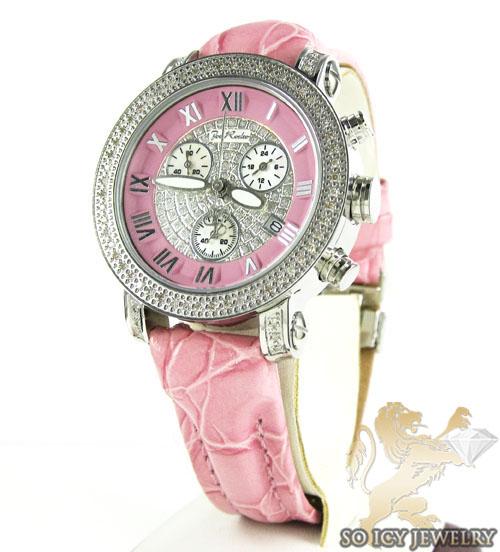 Ladies Passion Pink Joe Rodeo Diamond Watch 0.60ct