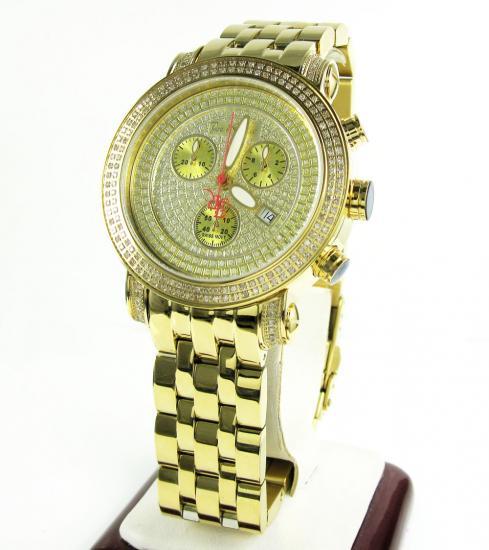 Joe Rodeo Classic Diamond Yellow Watch Jcl19 1.75ct
