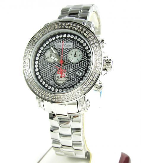 Ladies White Stainless Steel Joe Rodeo Rio Diamond Watch 1.25ct Jro6