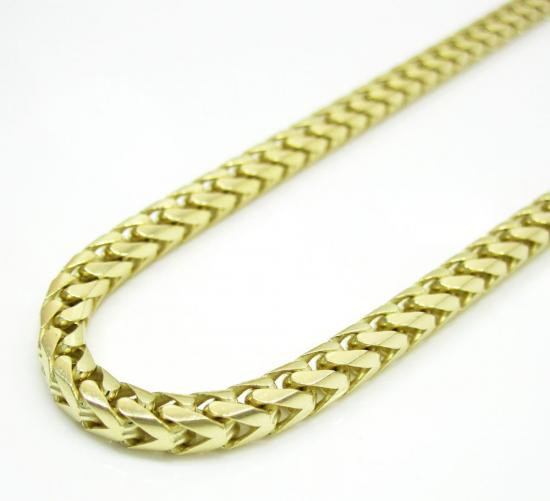 Yellow white and rose gold franco chains amp necklaces so icy jewelry