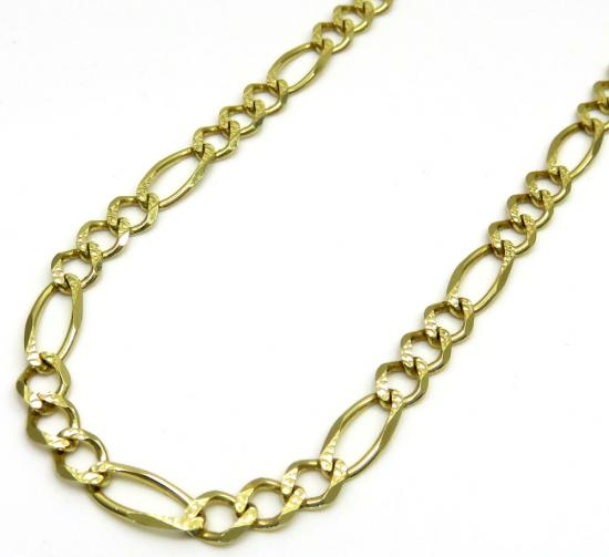 c515dc7b2eeee 100 % Real 10K Gold Figaro Chains and Necklaces: So Icy Jewelry