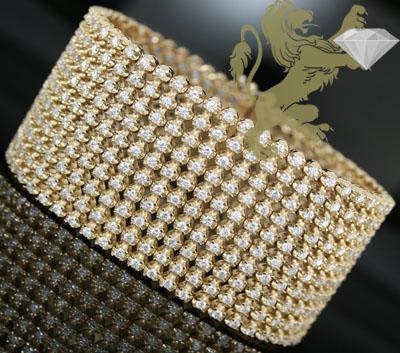 26.00ct 14k solid yellow gold round diamond