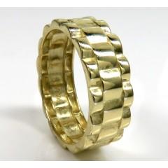 10k Gold 7.50mm Presidential Style Ring