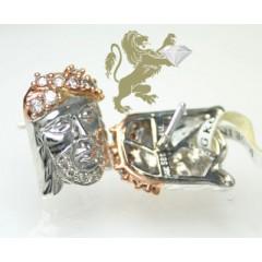 0.60ct 14k white & rose gold round diamond