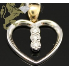 0.08ct 14k Two Tone Gold ...