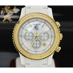 0.15ct Techno Com By Kc Diamond Watch white Ceramic