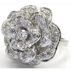 2.00ct 14k Solid White Gold