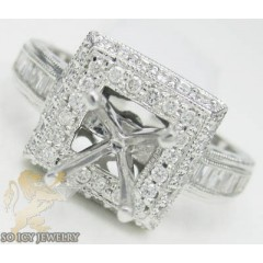 0.75ct 14k White Gold 'ba...