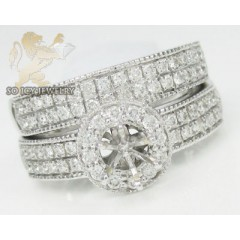 0.90ct 14k White Gold Dia...